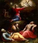Живопись | Джорджо Вазари | The Garden of Gethsemane, 1570