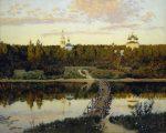 Живопись | Исаак Левитан | Тихая обитель, 1890