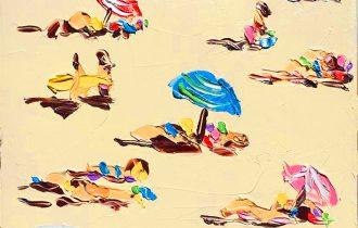 Знойная фактурная живопись Салли Вест