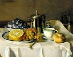 Живопись | Элизабет Пэкстон | Continental Breakfast, 1907