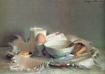 Живопись | Элизабет Пэкстон | The Breakfast, 1911