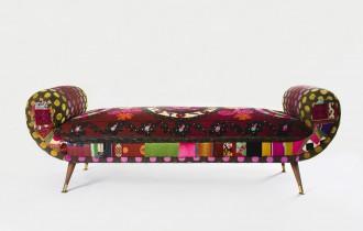Кресла в стиле пэтчворк
