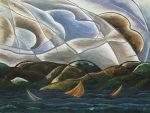 Живопись | Артур Доув | Clouds and Water, 1930
