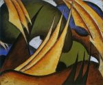 Живопись | Артур Доув | Паруса, 1911-1912