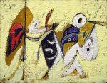 Живопись | Аршил Горки | Битва на закате с Богом кукурузы (Композиция № 1), 1936