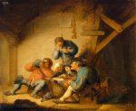 Живопись | Адриан ван Остаде | Вкус, 1637