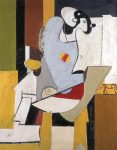 Живопись | Аршил Горки | Blue Figure in a Chair, 1931