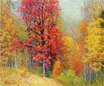 Живопись | Джон Эннекинг | Autumn Landscape