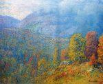 Живопись | Джон Эннекинг | Mountain Landscape, 1902