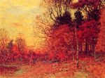 Живопись | Джон Эннекинг | New England Autumn Landscape, 1894