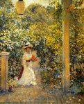 Живопись | Филипп Лесли Хейл | A Summer Visitor, 1893-97