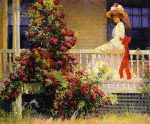 Живопись | Филипп Лесли Хейл | The Crimson Rambler, 1908