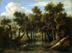 Живопись | Якоб Исаакс ван Рейсдал | Болото, 1660-е