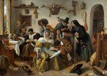 Живопись | Ян Стен | Beware of Luxury, 1663