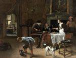 Живопись | Ян Стен | Easy Come, Easy Go, 1661