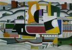 Живопись | Фернан Леже | The great tug, 1923