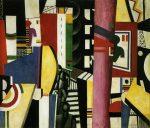 Живопись | Фернан Леже | The Сity, 1919