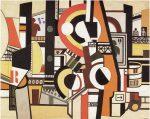 Живопись | Фернан Леже | The Disks in the City, 1920