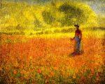 Живопись | Филипп Хейл | Маки, 1895