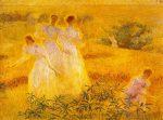 Живопись | Филипп Хейл | Девушки в солнечном свете, 1895