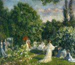 Живопись | Филипп Хейл | Праздник в саду, 1890-99