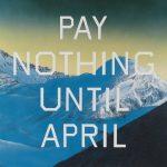 Живопись | Эд Рушей | Pay Nothing Until April, 2003