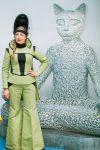 Александра Ивлева в Супергеройском сварочном костюме