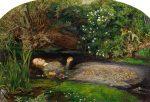 Живопись | Джон Эверетт Милле | Офелия, 1851-52