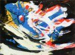 Живопись | Карел Аппел | Leaping Animal, 1960