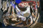 Живопись | Карел Аппел | The Dying Horse, 1956