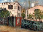 Живопись | Морис Утрилло | A Corner of the Butte Montmartre, 1914