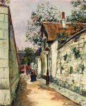 Живопись | Морис Утрилло | Cottage of Henri IV in Montmartre