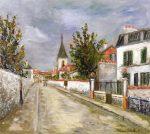 Живопись | Морис Утрилло | Eglise d'Eaubonne