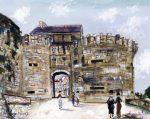 Живопись | Морис Утрилло | La Porte Neuve, Vezelay (Yonne), 1932