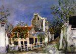 Живопись | Морис Утрилло | The Lapin Agile in Montmartre, 1914