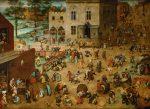 Живопись | Питер Брейгель Старший | Детские игры, 1560