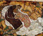 Живопись | Эгон Шиле | Death and the Maiden, 1915