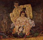 Живопись | Эгон Шиле | The Family, 1918