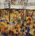 Живопись | Эгон Шиле | Winter Trees, 1912