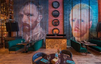 Галерея «Квартира S» показала «Краски Ван Гога»