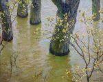 Живопись | Алексей Грицай | Ива цветет. Большая вода, 1959-83