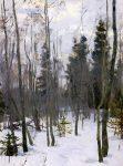 Живопись | Алексей Грицай | Повеяло весной, 1956