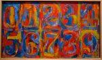 Живопись | Джаспер Джонс | Zero to Nine, 1964