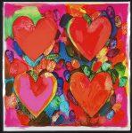 Живопись   Джим Дайн   Four Hearts, 1969