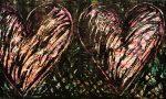 Живопись   Джим Дайн   Two Hearts in a Forest, 1981