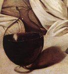 Живопись | Караваджо | Вакх, 1596 (Фрагмент)