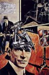 Коллаж | Рауль Хаусман | Tatline at home, 1920
