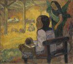 Живопись | Поль Гоген | Младенец (Рождество), 1896