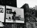 Стрит-арт | Даниель Бюрен | Affichages Sauvages, 1968-70