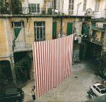 Стрит-арт | Даниель Бюрен | Peinture Suspendue, 1972